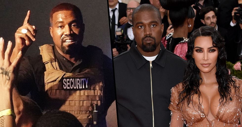 Kanye West Says He's Been Trying to Divorce Kim Kardashian for Two Years in Fresh Twitter Rant