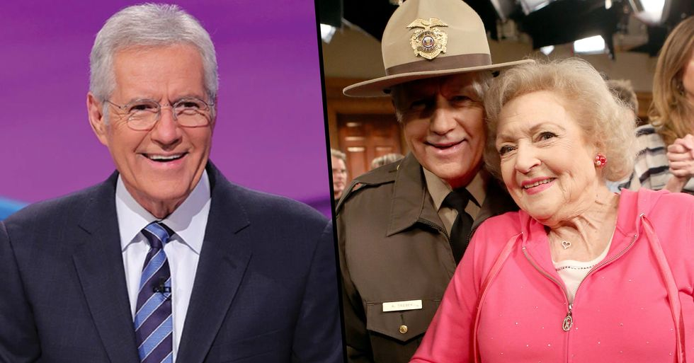Alex Trebek Wants Betty White to Replace Him on 'Jeopardy'
