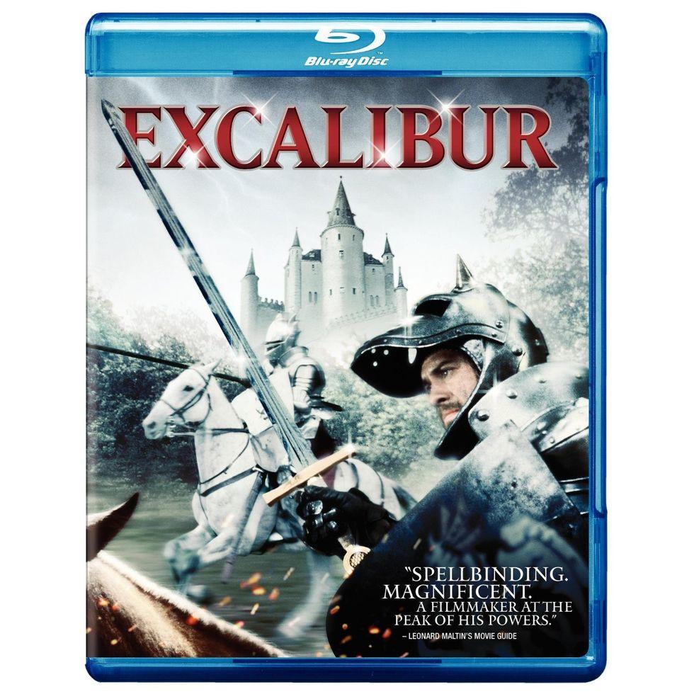 Excalibur On Blu-ray