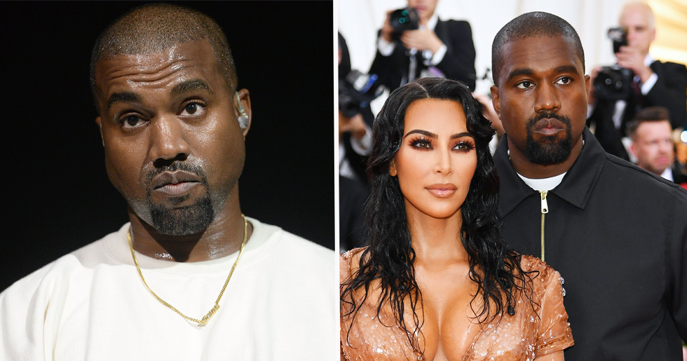 Kanye West Is Refusing to See Kim Kardashian
