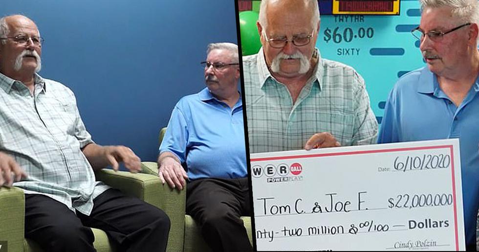Man Splits $22 Million Lottery Jackpot With Best Friend After Agreeing to Split Winnings 30 Years Ago