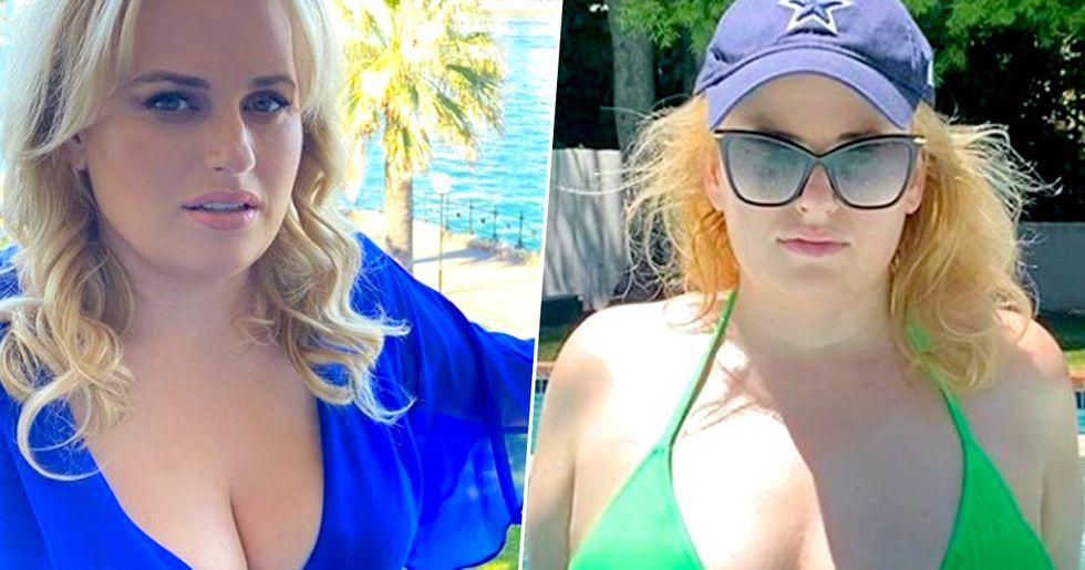 Rebel Wilson Shows off 18kg Weight Loss in Stunning Bikini Photo