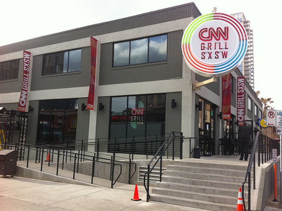 SXSW: The CNN Grill Is Where to Check-In with the Outside World in Austin