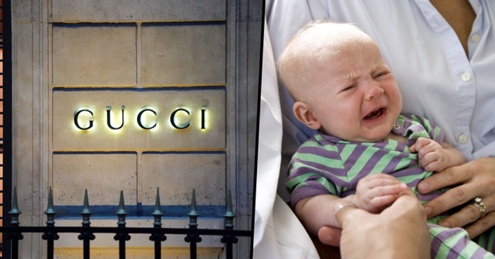 Aunt Demands Baby's Mom Pays for Her Gucci Top After It Was Ruined by Puke