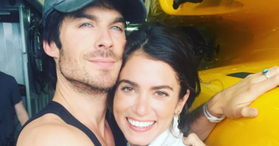 'Vampire Diaries' Star, Ian Somerhalder, Threw out His Wife's Birth Control Without Her Consent and People Are Outraged