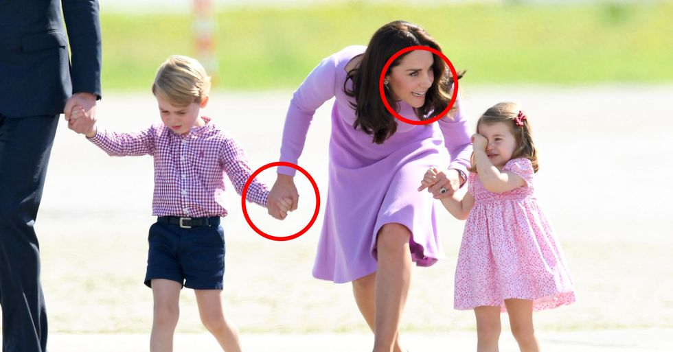Body Language Experts Analyze What Kind of Mom Kate Middleton Is