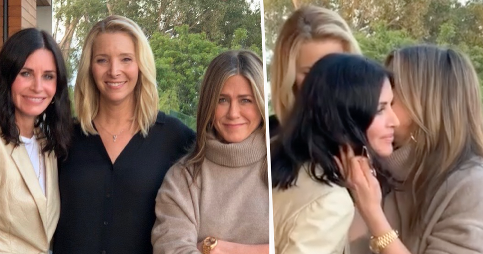 Courteney Cox, Lisa Kudrow and Jennifer Aniston's 'Dangerous' Instagram Post Receives Huge Backlash