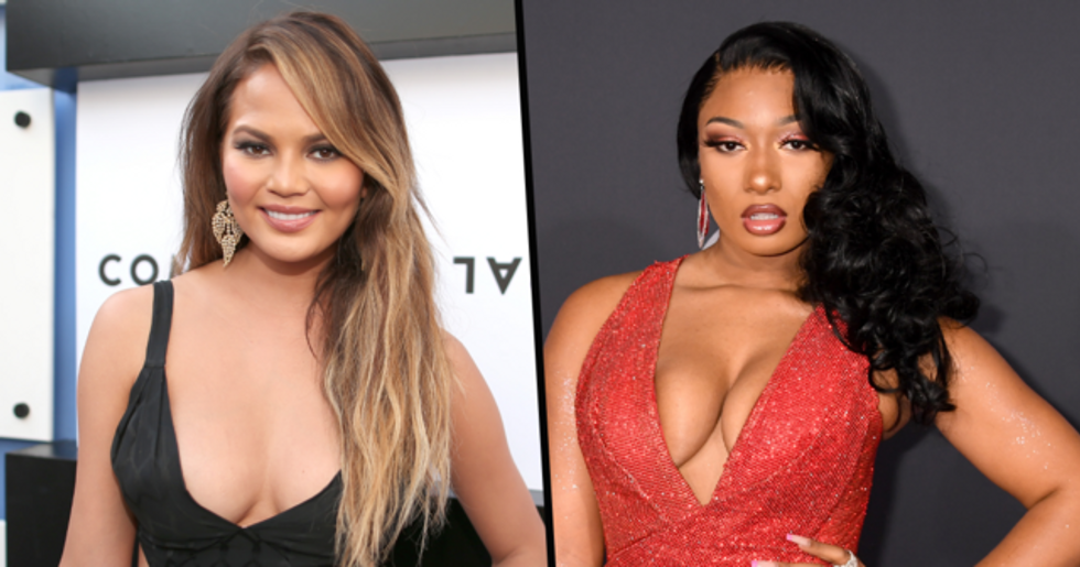 Chrissy Teigen Apologizes After Being Slammed for Joke She Made About Megan Thee Stallion