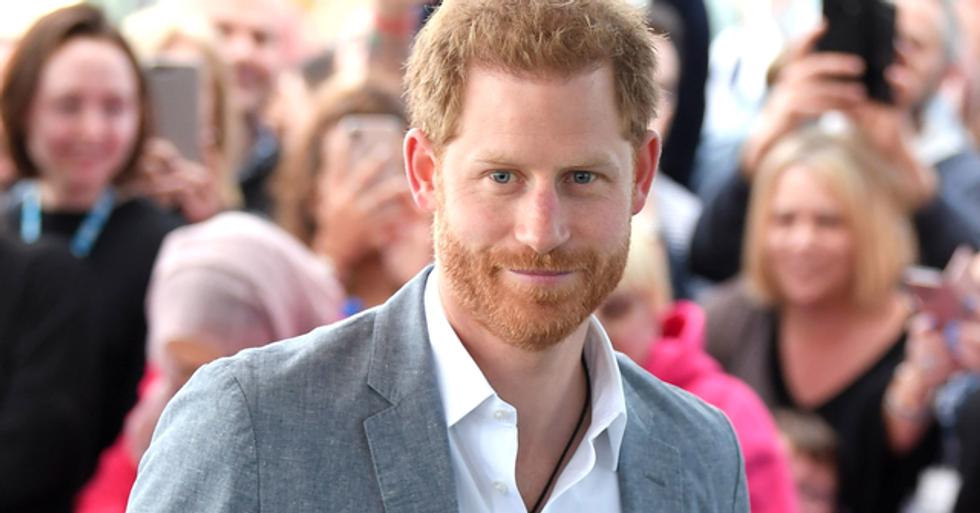 Prince Harry's Secret Instagram Has Been Exposed