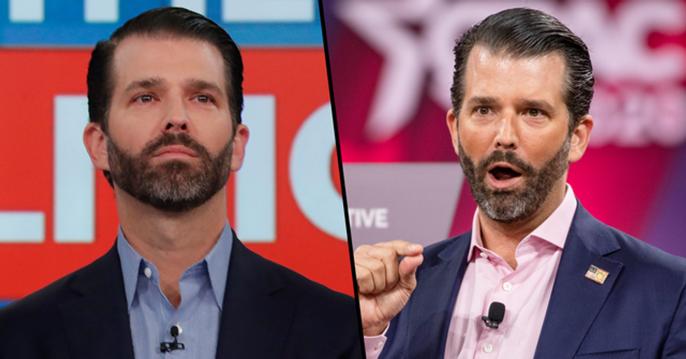 Donald Trump Jr Suspended From Tweeting After Controversial Post