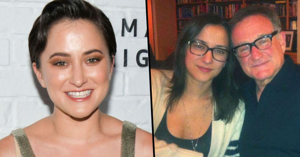 Robin Williams' Daughter Zelda Slammed After Paying Tribute to Her Dad on His Birthday