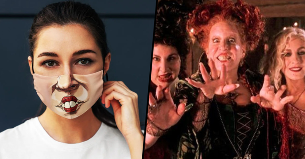 'Hocus Pocus' Face Masks Will Turn You Into Your Favorite Sanderson Sister