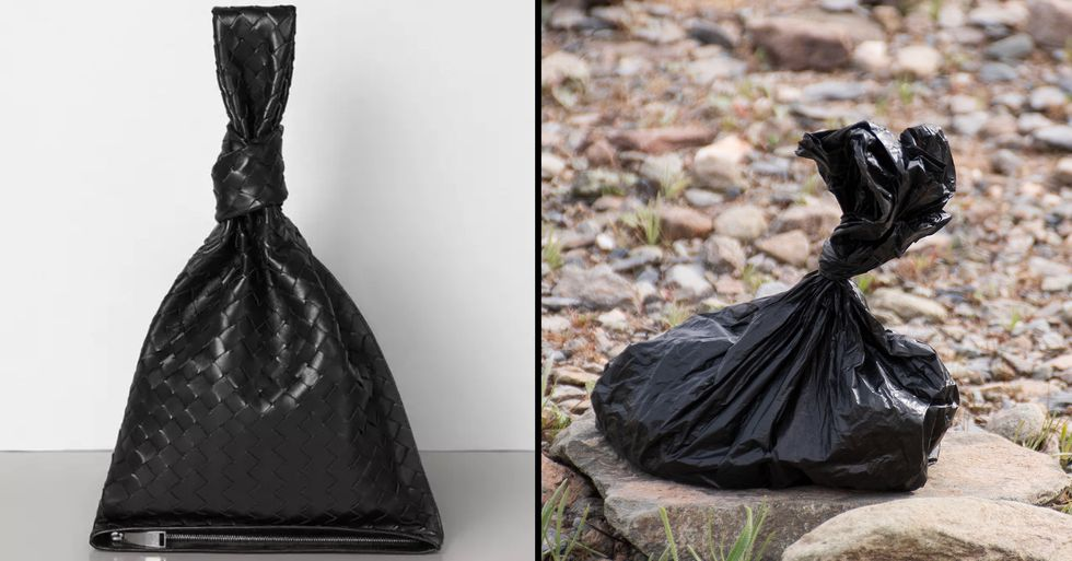 People Can't Stop Laughing at $2,120 Designer Clutch That Looks Like a Dog Poo Bag