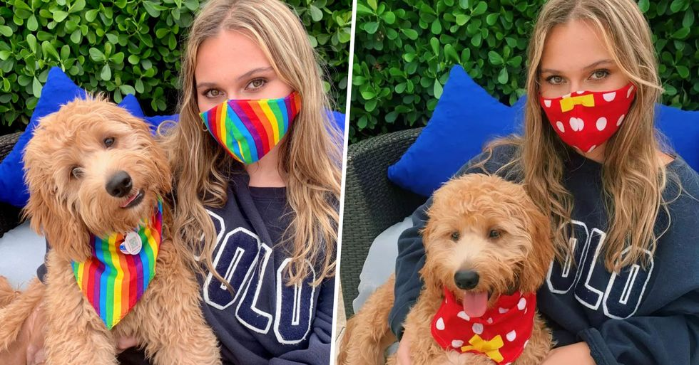 You Can Now Match Your Face Mask to Your Dog's Clothes