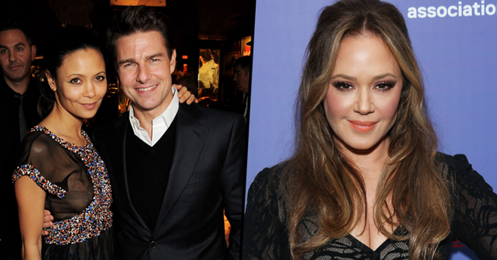 Leah Remini Calls Thandie Newton 'Brave' for Speaking Out About Tom Cruise