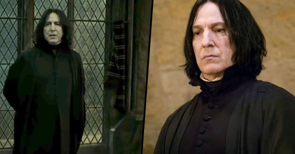 'Harry Potter' Fans Are Sharing Small but Very Important Details They've Noticed About Severus Snape