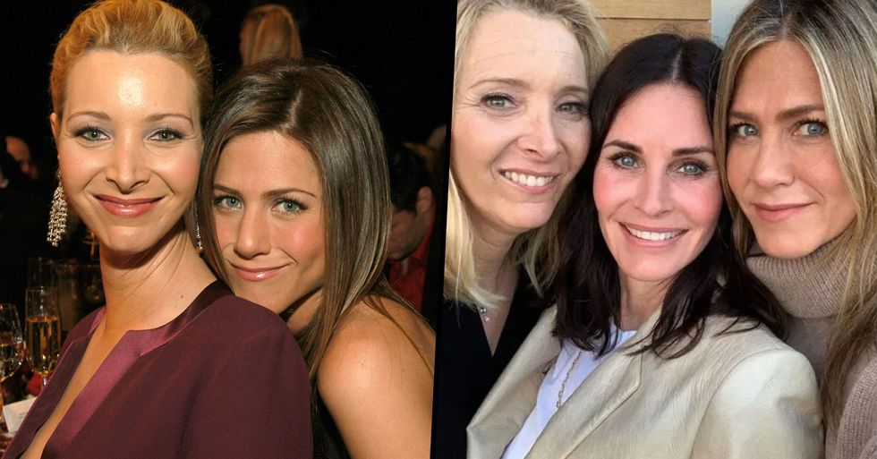 Fans Confused by Jennifer Aniston's 'Weird' Nickname for Lisa Kudrow