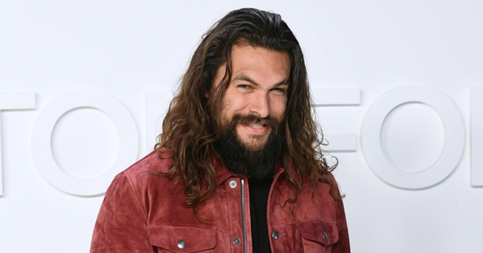 People Are Freaking Out Over Video of Jason Momoa Being Hosed Down After Dune Buggy Ride