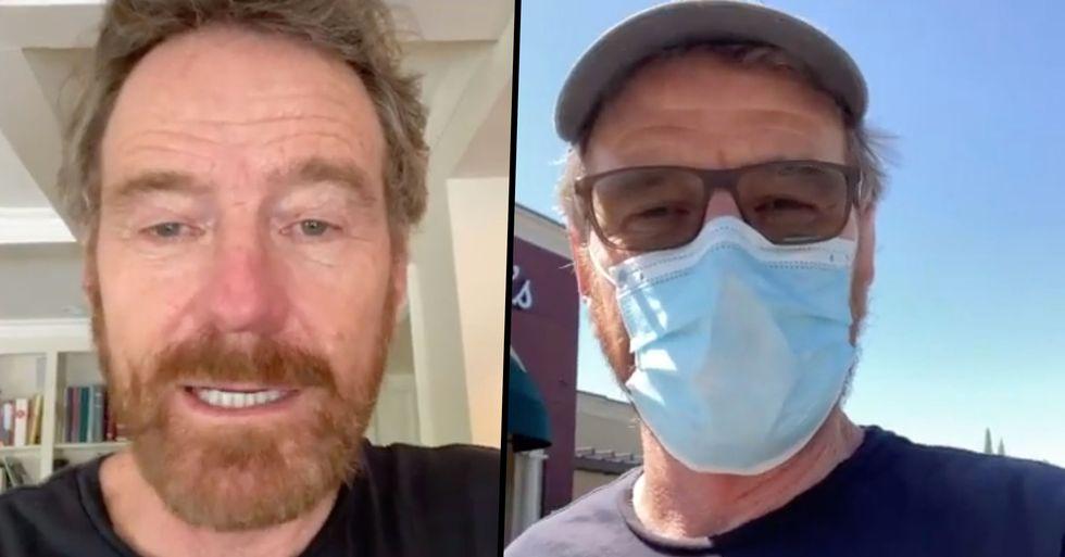 Bryan Cranston Donates Plasma After Recovering From Coronavirus