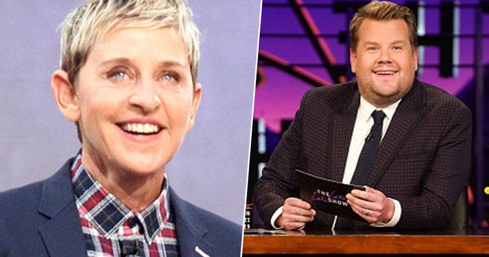 James Corden Could Replace Ellen DeGeneres After Recent Claims
