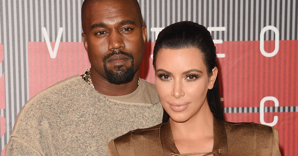 Kim Kardashian Shares Snap of Herself Trying on Wedding Dress Amid Kanye West Split Rumors