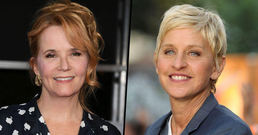 Actress Lea Thompson Backs Claims That Ellen DeGeneres 'Treats People Horribly'