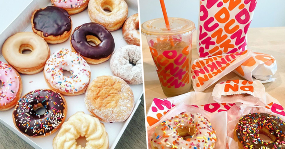 Dunkin' Is Offering Free Coffee and Donuts Throughout August