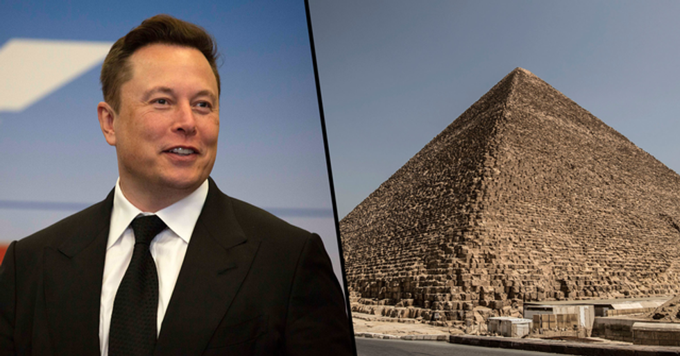 Egypt Invited Elon Musk to See the Pyramids for Himself After He Claimed They Were Built by Aliens