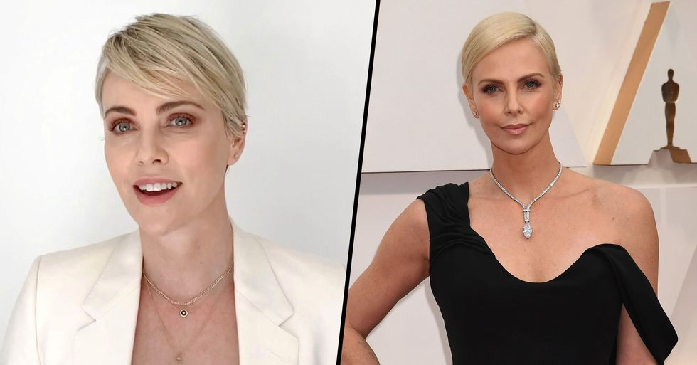Charlize Theron Says She's 'In a Relationship' With Herself