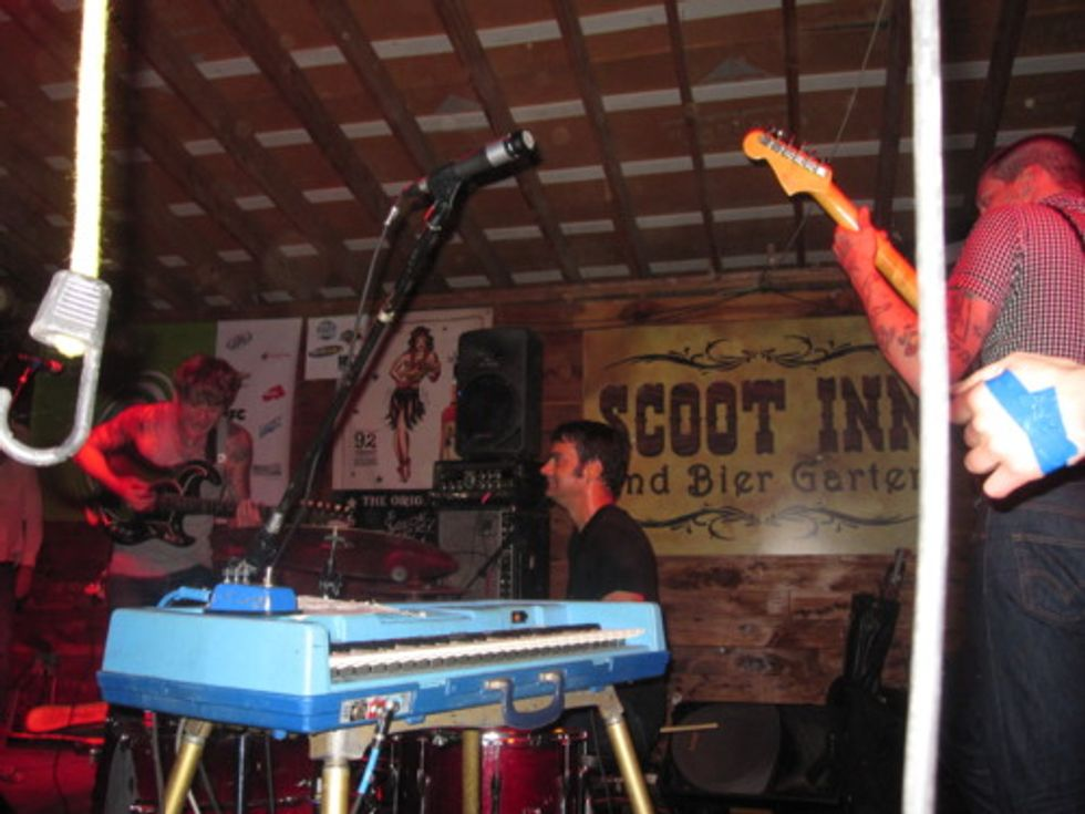 SXSW: A Very Public Display of Affection for Thee Oh Sees at Scoot Inn