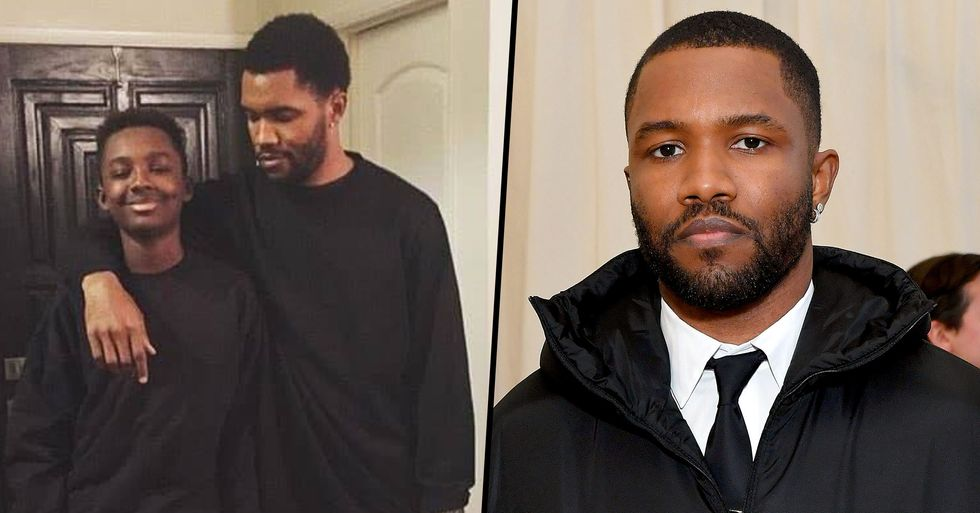 Frank Ocean's Brother Dies 'in Fiery Car Collision' Aged 18