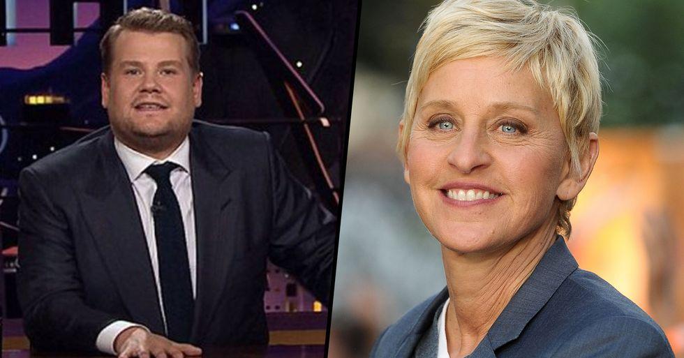 'Disgusting' Resurfaced James Corden Stories Show That He's 'Just as Bad as Ellen DeGeneres'