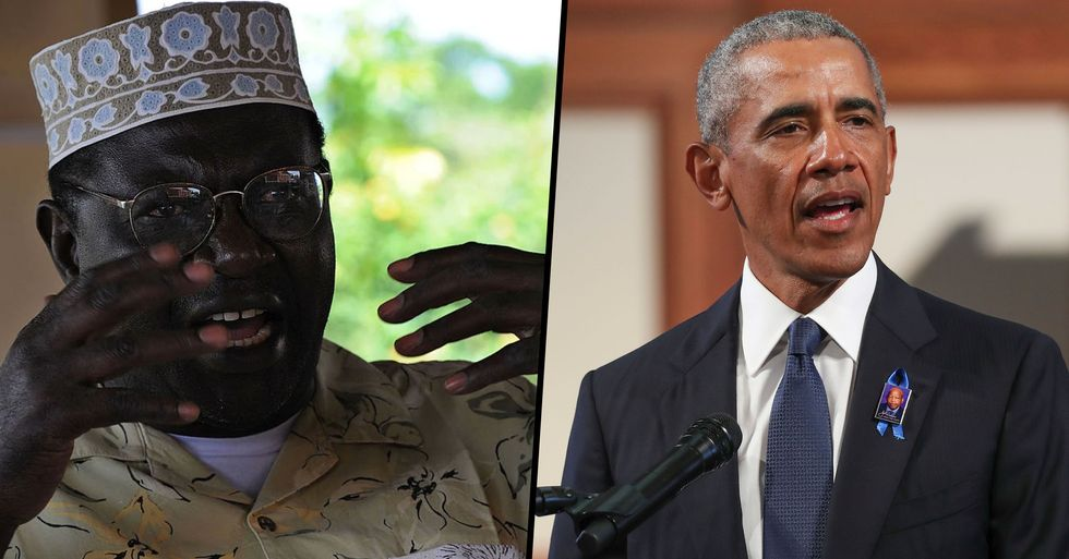 Barack Obama's Half-Brother Slams Him as 'Cold and Ruthless'