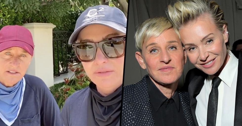 Ellen DeGeneres' Wife Portia Speaks Out About Accusations of Cruelty