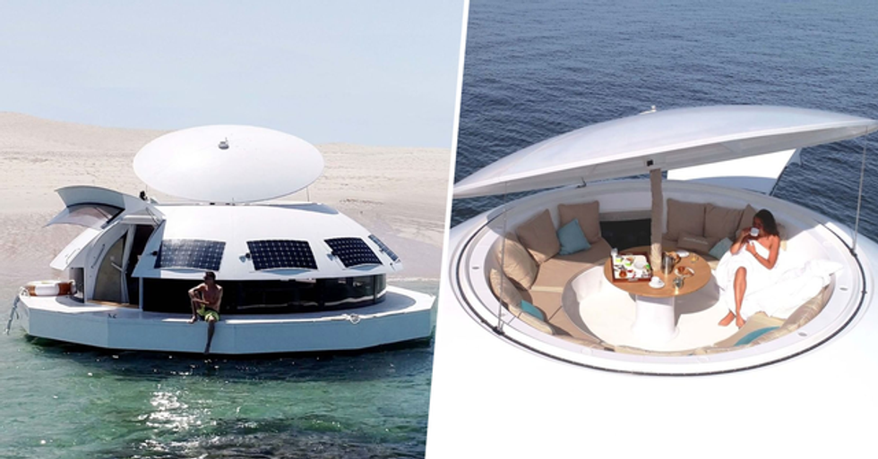 You Can Now Rent a Floating Party Pod That Can Sail Around the World