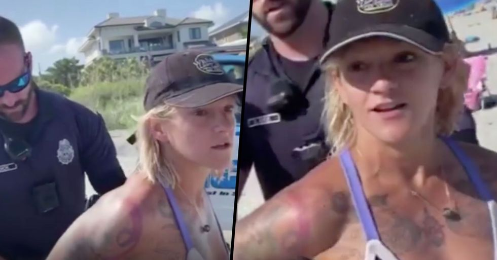 Acrobat Detained by Myrtle Beach Police for Wearing 'Offensive' Bikini