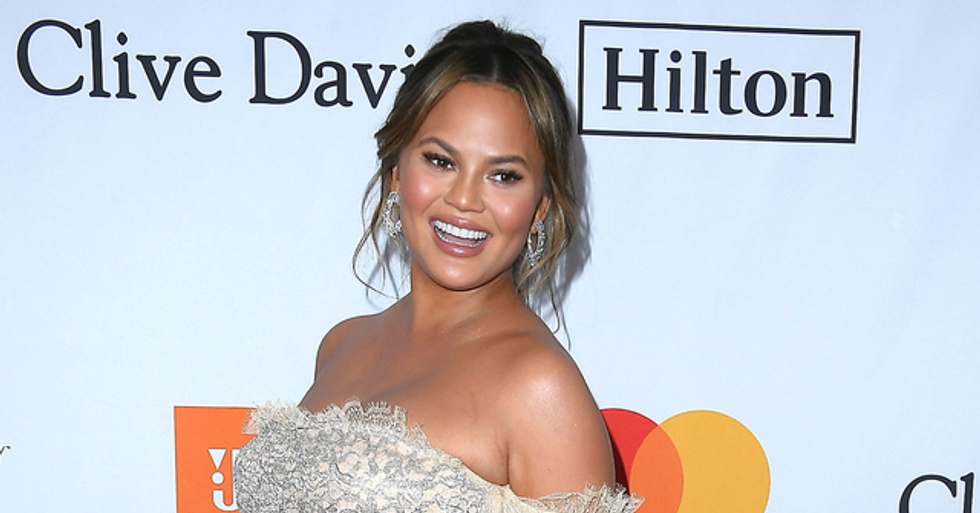 Chrissy Teigen Wears the 'Sexiest Dress Ever'