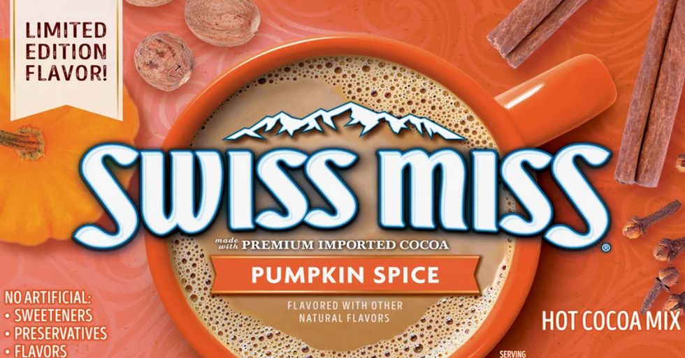 Swiss Miss Has New Pumpkin Spice Hot Chocolate and People Are Very Excited About It