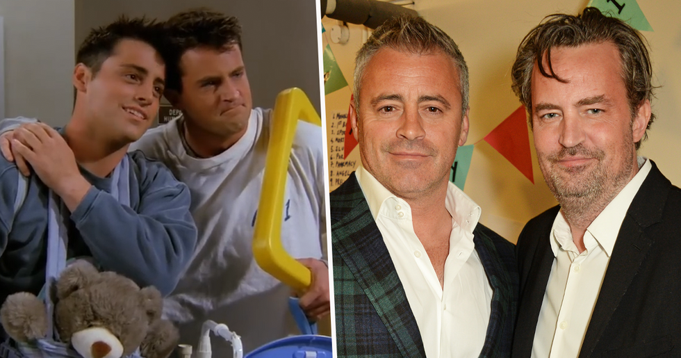 Matt LeBlanc Thought Matthew Perry Was an 'A**Hole', His Dad Says