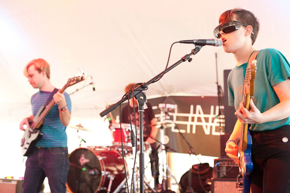 SXSW: Lower Dens Frightens a Tipsy Afternoon Crowd Awake
