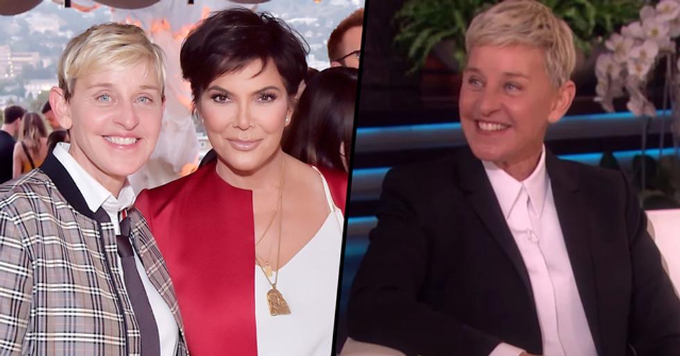 Kris Jenner Defends Ellen DeGeneres Amid Allegations of Cruelty on Talk Show Set