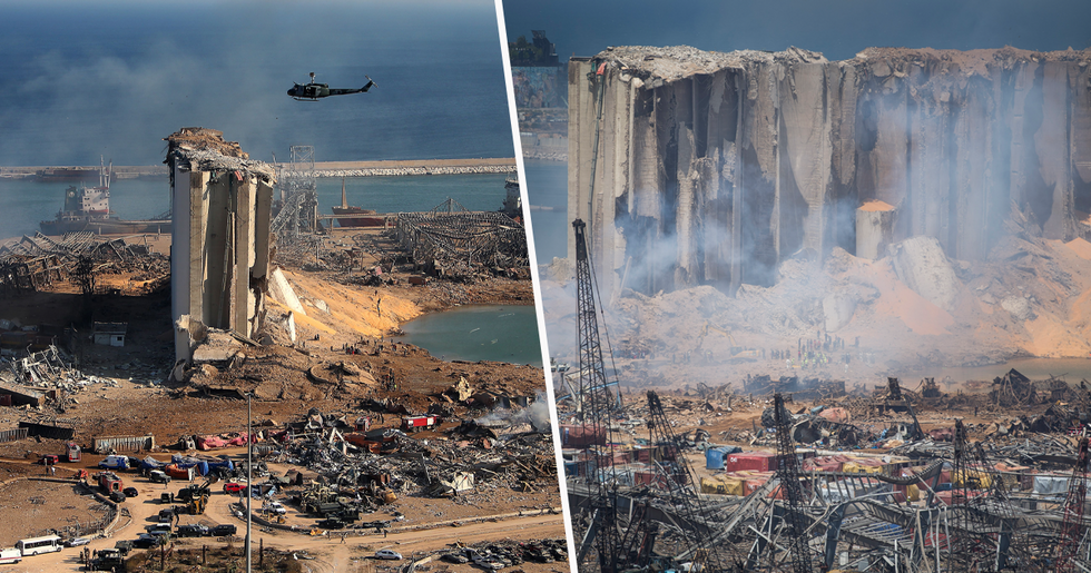 Horrifying Images Show Devastating Aftermath of Beirut Explosion