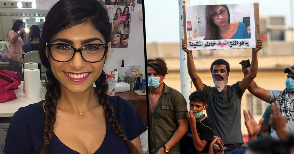 Mia Khalifa Fuels Conspiracy Theory About Explosion in Hometown of Beirut