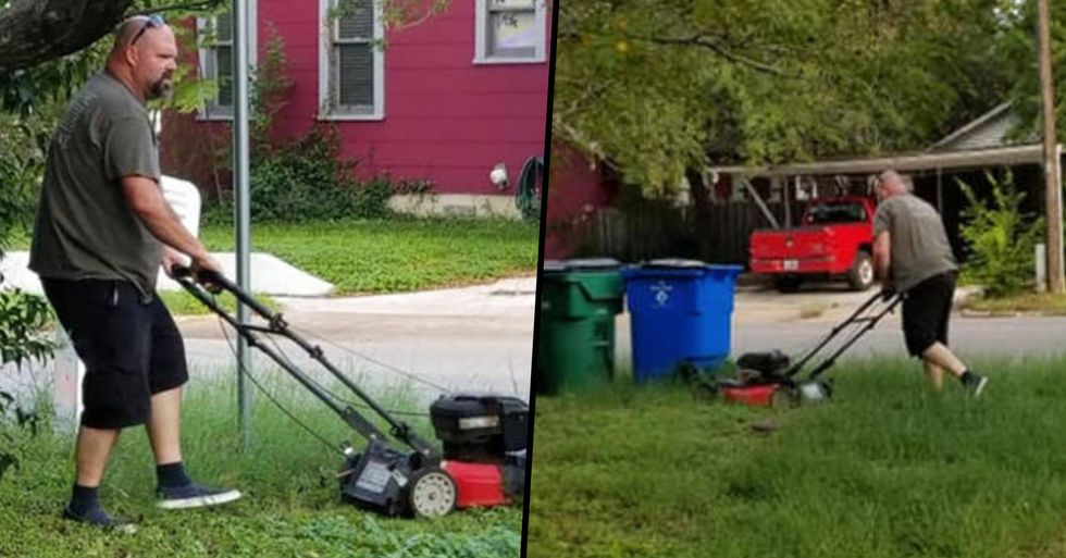 Man Still Mows His Ex-Wife's Lawn Despite Being Divorced for 28 Years