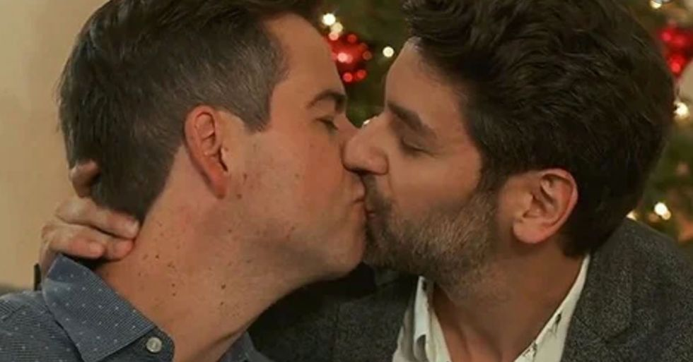 Lifetime Will Finally Feature a Gay Romance in Its Christmas Movie Lineup