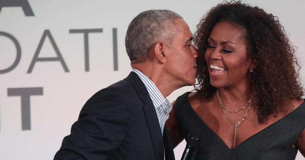 Michelle Obama Posts Sweetest Throwback for Barack's Birthday