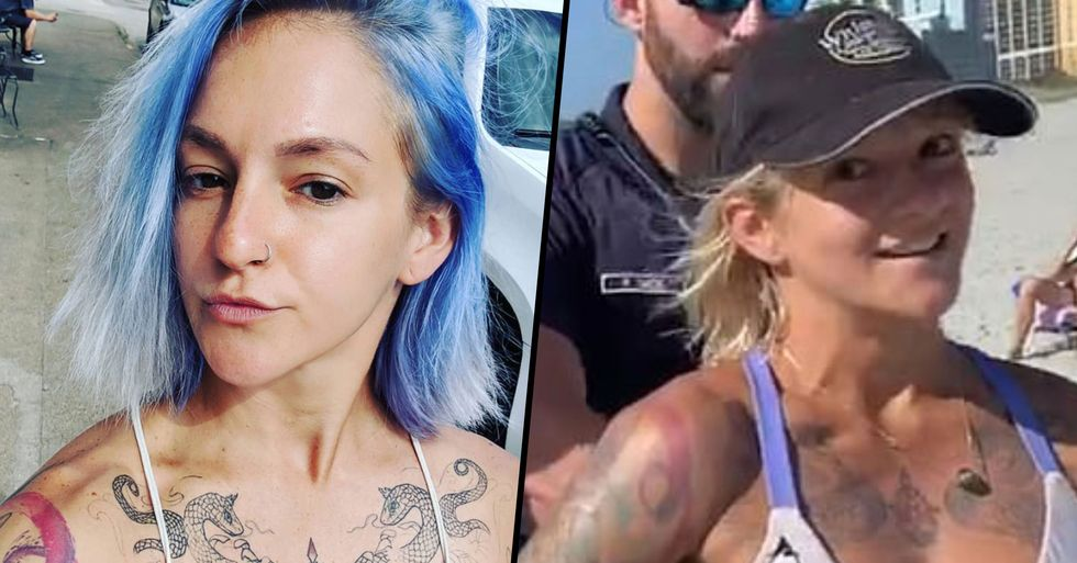 Acrobat Arrested for Bikini She Was Wearing on Beach Responds to Abuse From Trolls