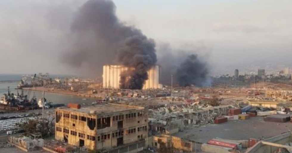 Terrifying Images Show Scale of Beirut Explosion if it Happened in USA