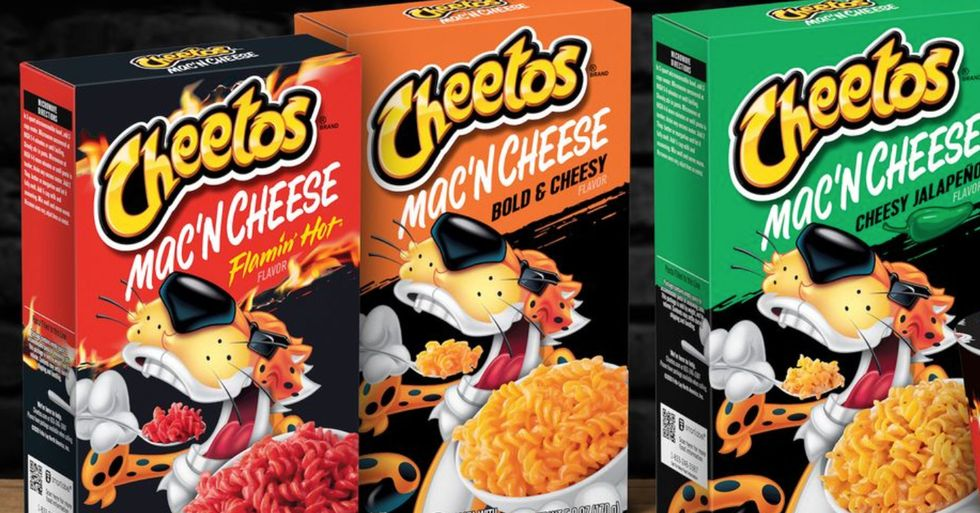 Cheetos Mac 'n Cheese Is Coming to Stores and There's Even a Flamin' Hot Flavor