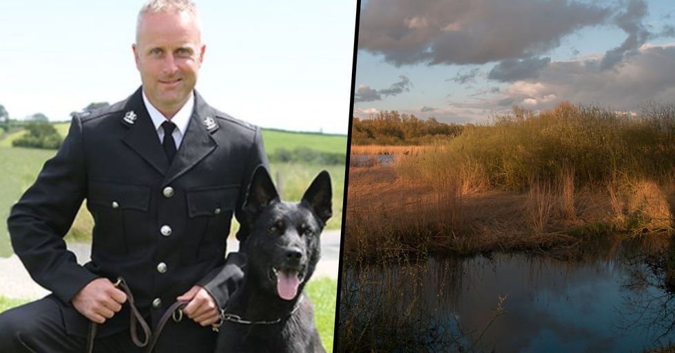 Police Dog Finds Missing Mom and Baby on First Day